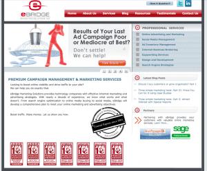 eBridge web design 3