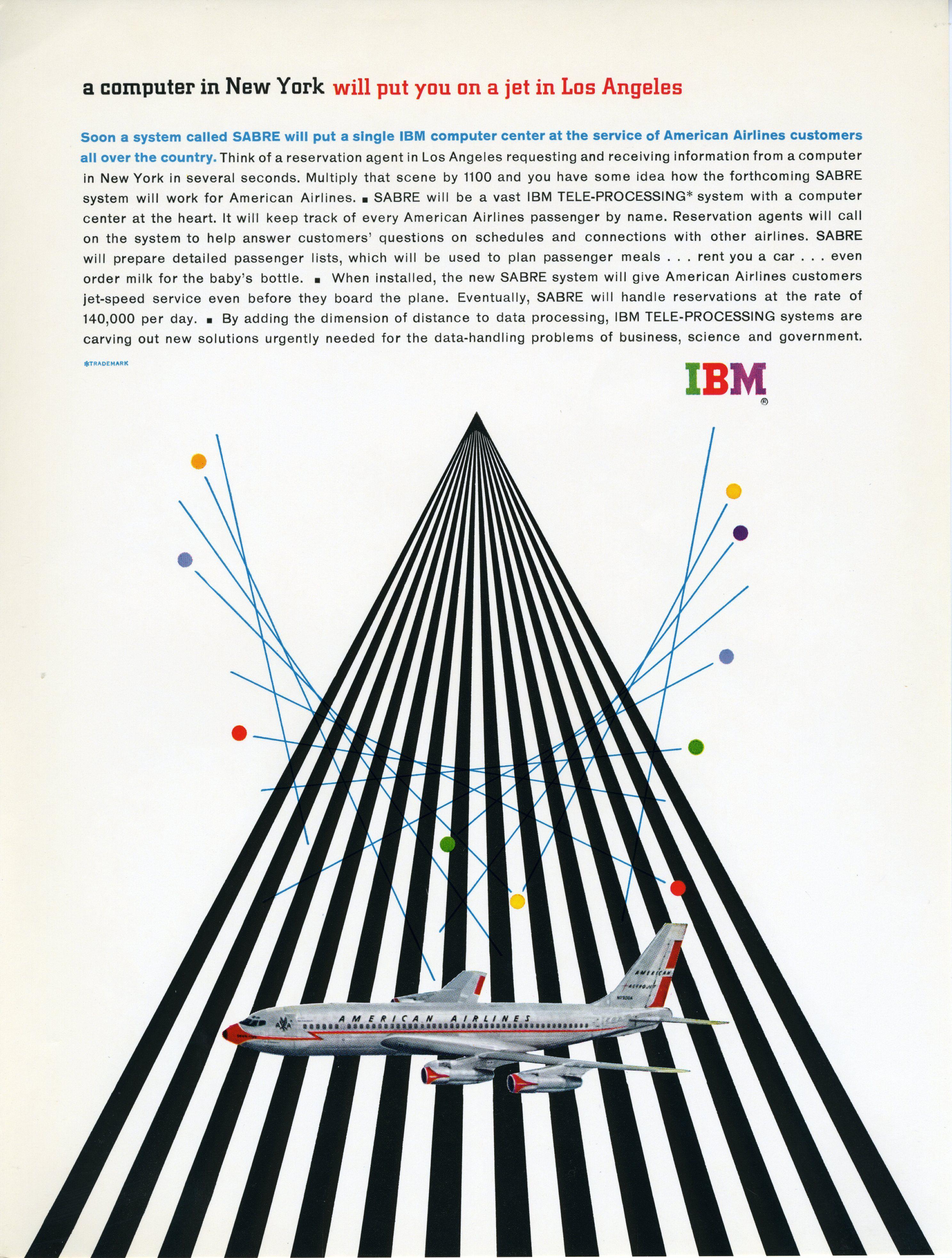 Old IBM Advert