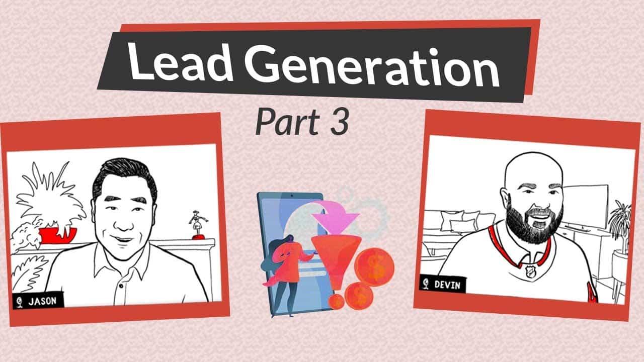 Lead Generation Part 3: Landing Pages